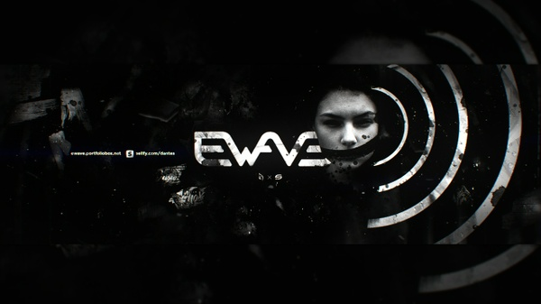 eWave Header PSD