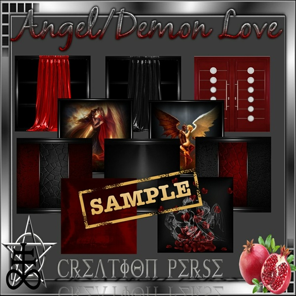 Angle/demon love Mesh room