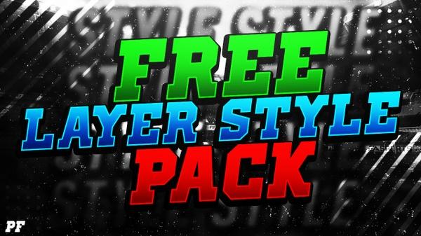 Free Photoshop Layer Styles - PfDesigns