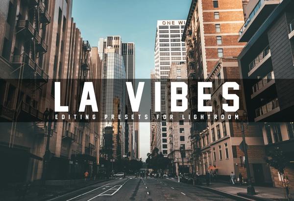 LA Vibes - 18 Lightroom Presets