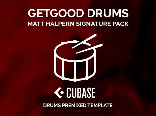 GGD Matt Halpern Signature Pack (Original library) - CUBASE premixed template