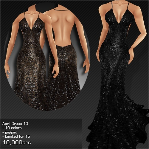 2013 APRIL DRESS # 10