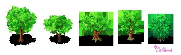 """Celianna's Parallax Tiles """"Trees 4"""""""