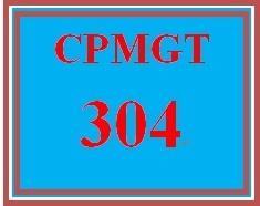 CPMGT 304 Week 1 Communication Self-Assessment