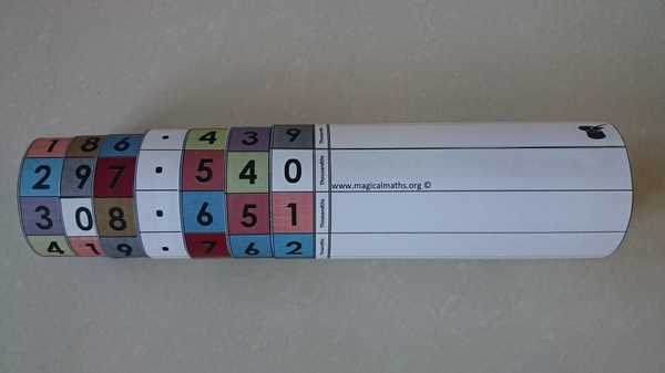 The Magical Place Value Roller