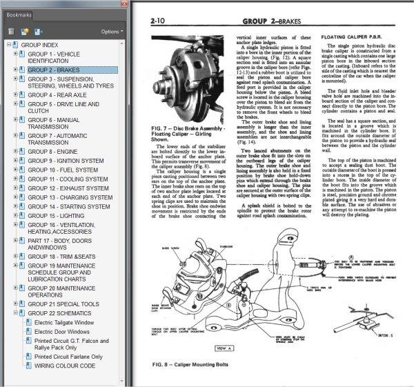 Ford Falcon XA Fairmont GT Fairlane ZF Repair Manual