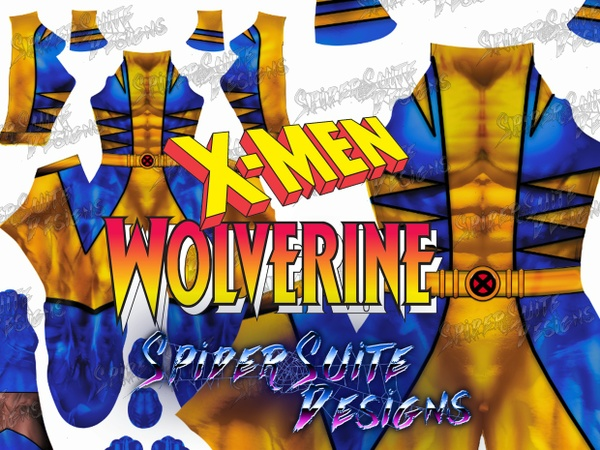 Classic Comic Wolverine 2017 Pattern