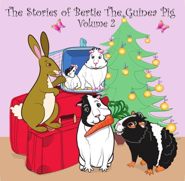 Audio books: The Stories of Bertie the Guinea Pig - Volume 2