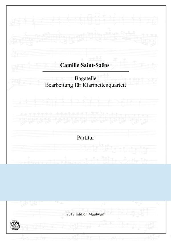 Saint-Saëns Bagatelle