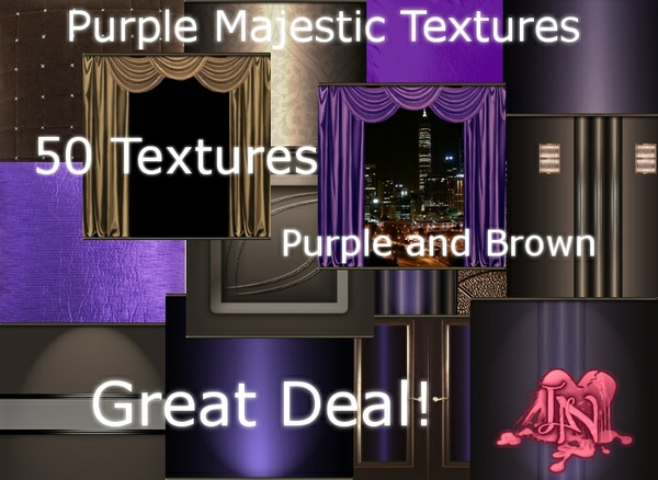 Purple Majestic Room Textures