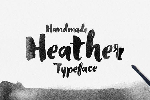 Heather Typeface