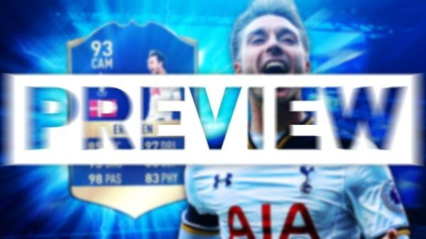 FIFA 17 TOTS ERIKSEN THUMBNAIL TEMPLATE