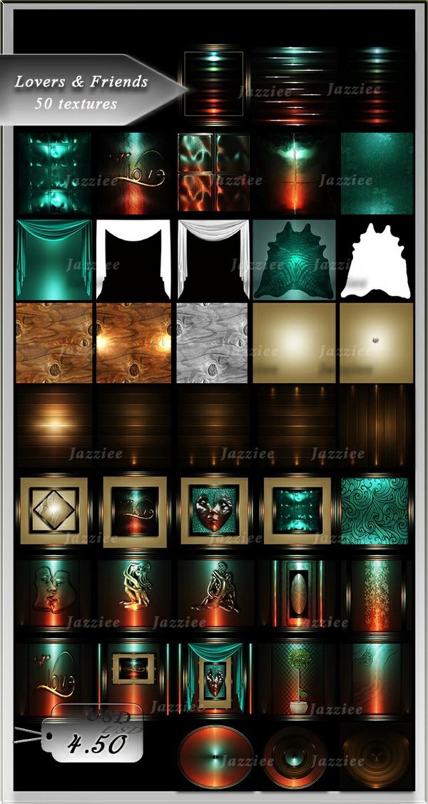50 textures loversandfriends