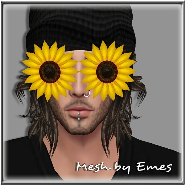 SUNFLOWER GLASSES MALE MESH V1