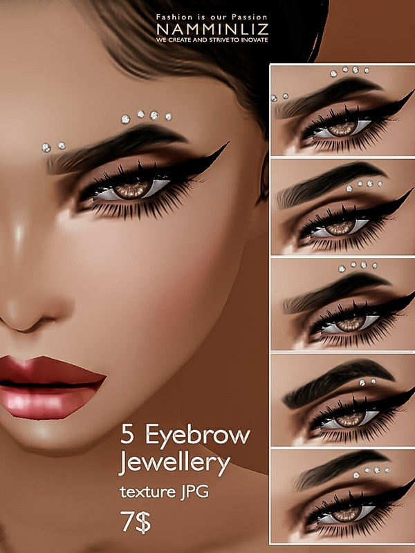 5 Eyebrow Jewellery JPG texture imvu