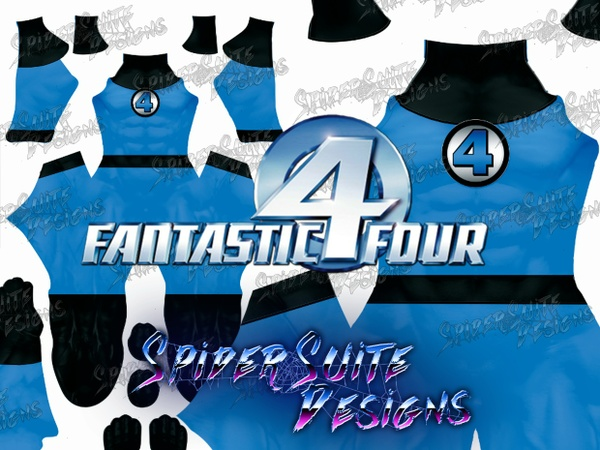 Fantastic Four Generic Suit 2017 Pattern