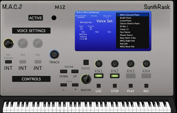 MACJ M12 SynthRack