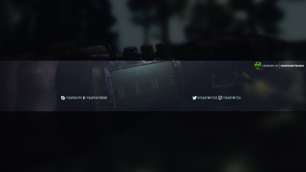 Nuketown Youtube Channel Banner Template