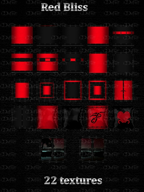 Red Bliss Room Texture