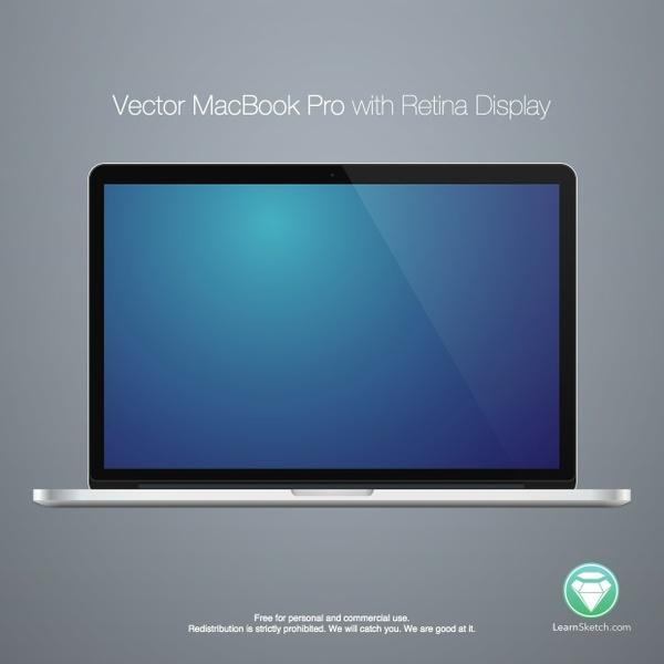 """Vector 15"""" Macbook Pro"""