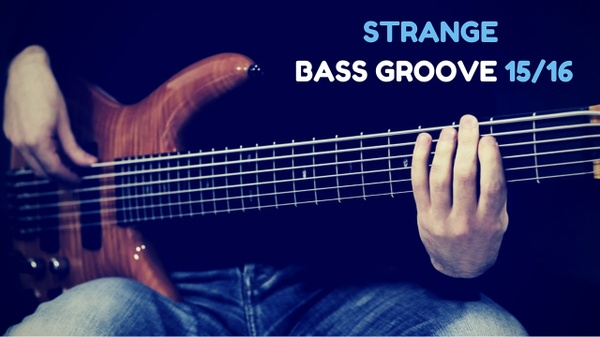 Strange Bass Groove - TAB + Playback