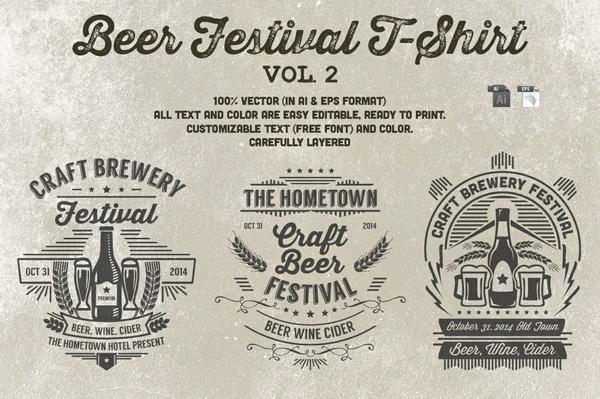 Beer Festival T-Shirt Vol. 2