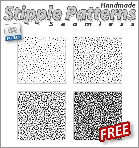 Stipple Patterns - Photoshop Plug-in