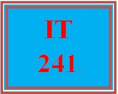IT 241 Week 2 In Your Own Words