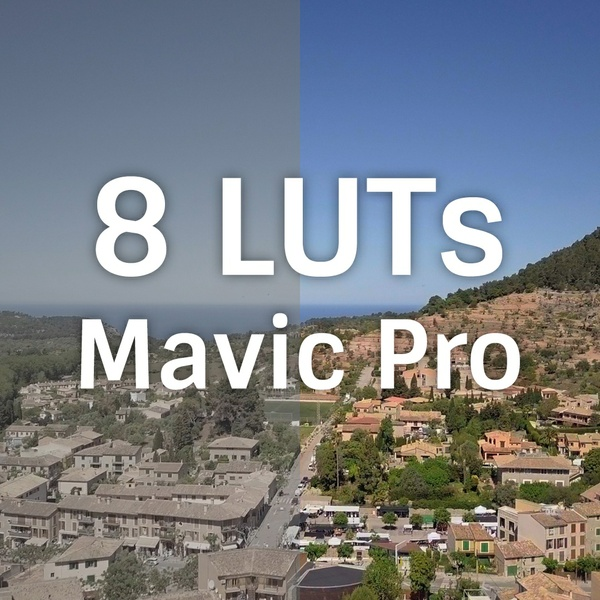 Pack 8 LUTs DJI Mavic Pro