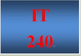 IT 240 Week 1 Individual Network Protocols