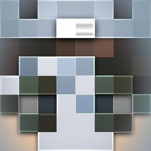 High Quality HD 2D Minecraft Head