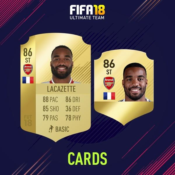 FIFA 18 CARDS