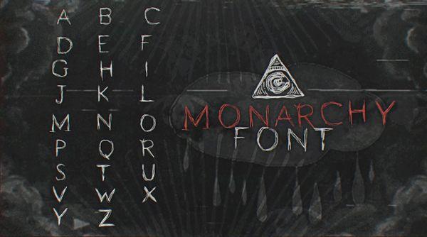 """""""Monarchy"""" Font + CC"""