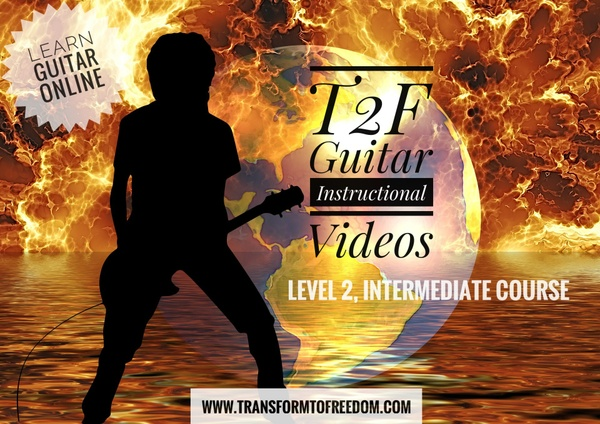 T2F Guitar & Music Theory Instructional Videos: Level 2, Lesson 1
