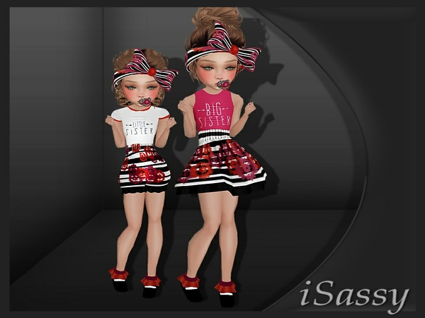 Big Sis - Lil Sis Fits - PSD