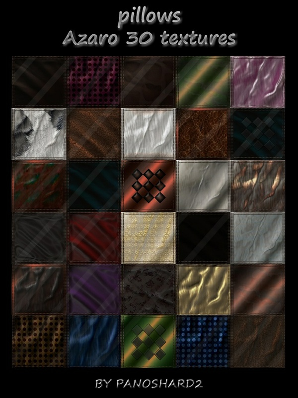 pillows azaro 30 textures.zip