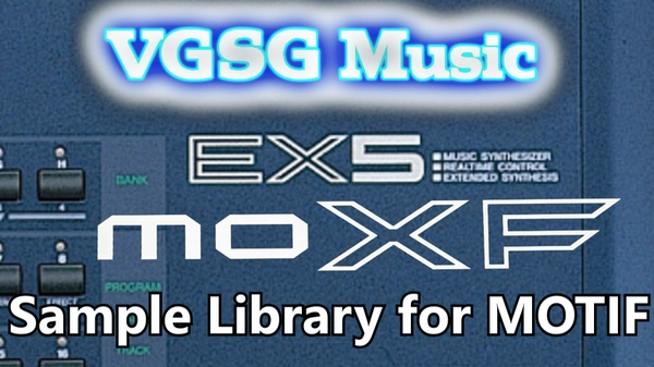 VGSG's EX5 Sounds for MOTIF (XF & MOXF)