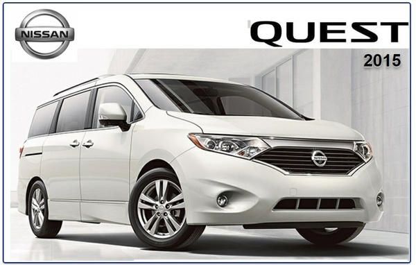 NISSAN QUEST 2015 FACTORY SERVICE MANUAL