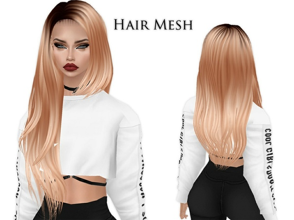 IMVU Mesh - Hair - Fenna