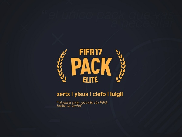 FIFA 17 ELITE PACK - WE ARE THE ELITE