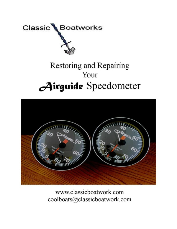 Restoring and Repairing Your Airguide Speedometer
