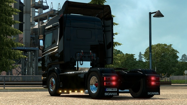 Scania RJL Dutch sideskirts