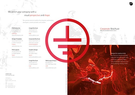 Business Brochure Template ( BRO-BS-01-03 )
