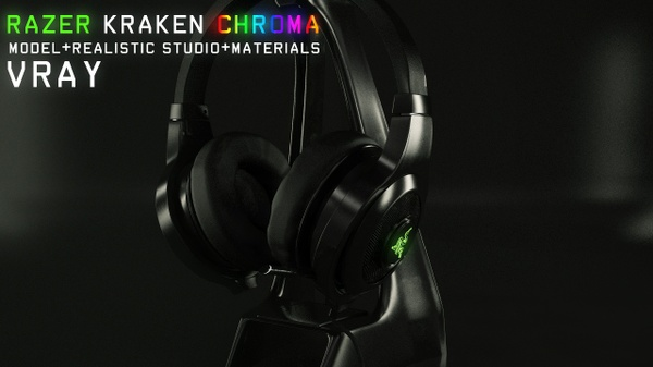 Razer Chroma model- VRAY