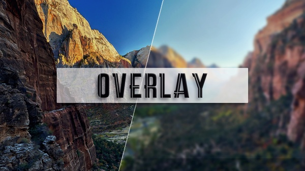 Overlay YouTube