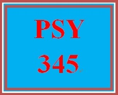 PSY 345 Week 5 Chemical Senses Paper
