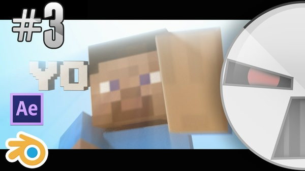 Template #3 Minecraft - Blender and After effects save file