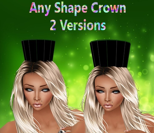 Any Shape Crowns Mesh Catty Only!!!