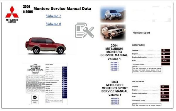 Mitsubishi Montero 2004 & 2006 Factory Service Manual