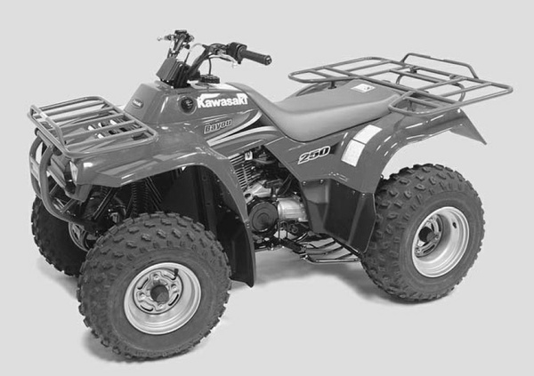 2003-2005 Kawasaki KLF250 BAYOU 250 Workhorse 250 ATV Service Repair Manual Download